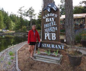 Garden Bay Pub at Pender Harbour